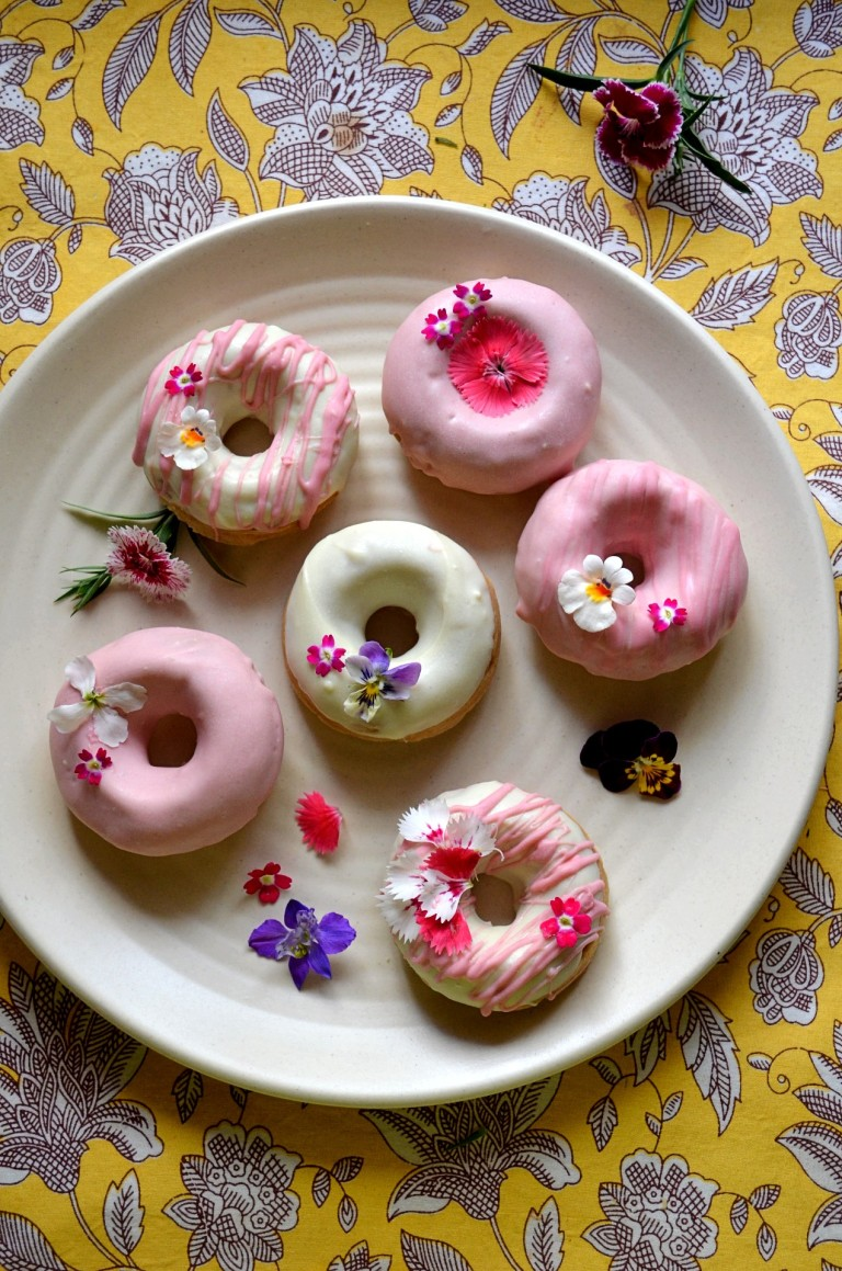 Floral Donuts